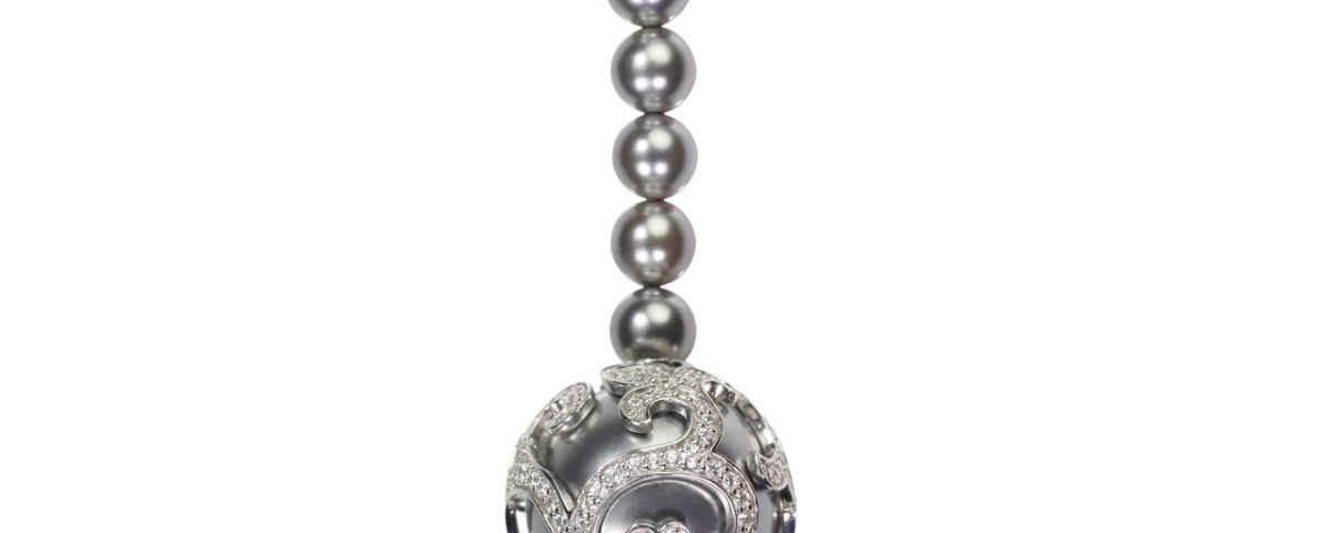 pendentif perle noire de Tahiti